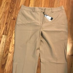 NWT sand color Talbot's size 18L trousers